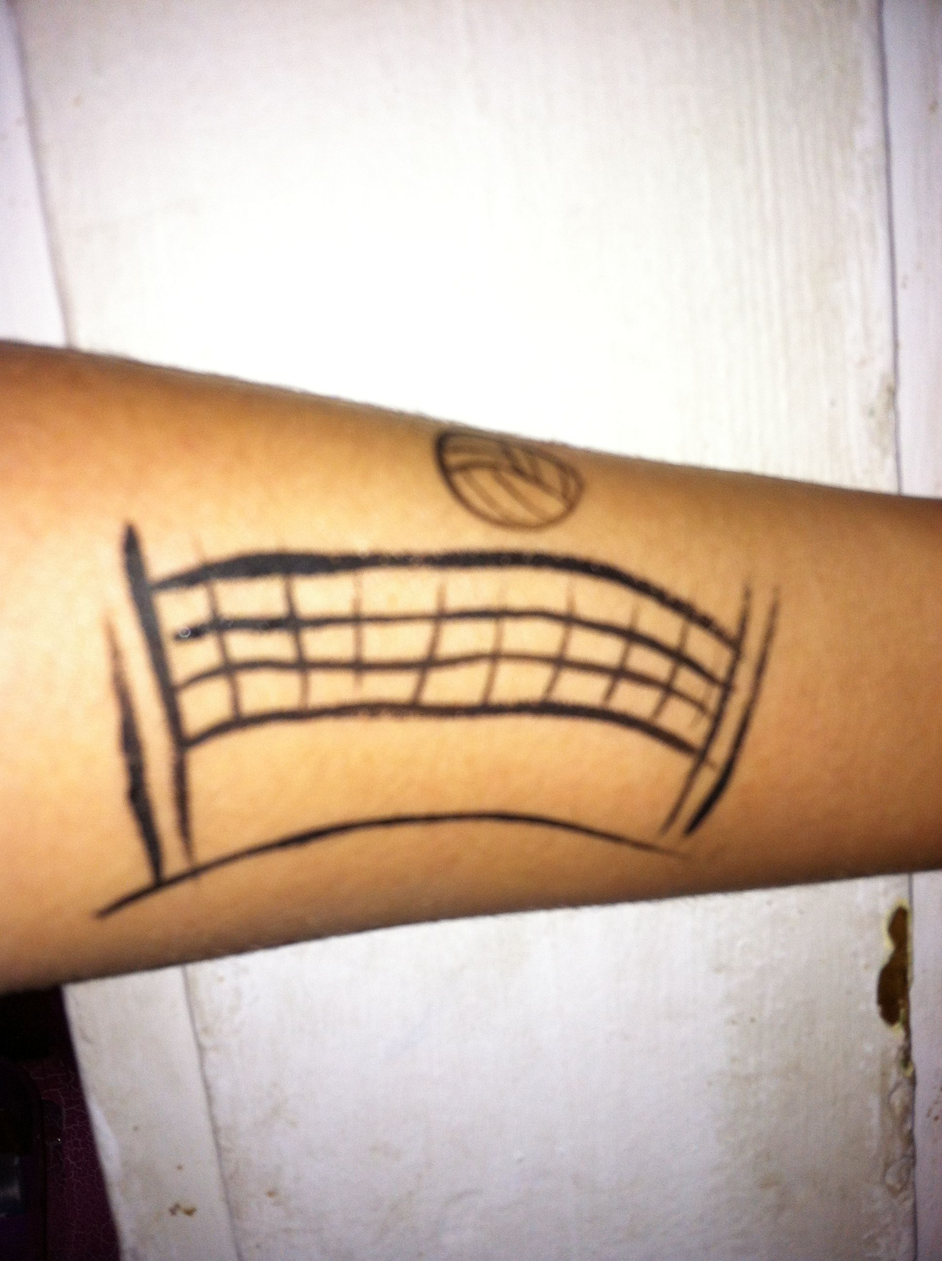 Volleyball Net Geometric Tattoo Face Painting Tattoos
