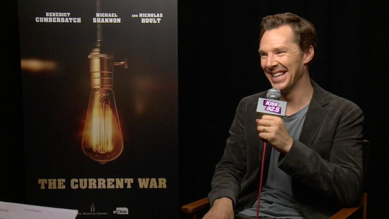 Benedict Cumberbatch Was Back In Town For Tiff To Promote His New