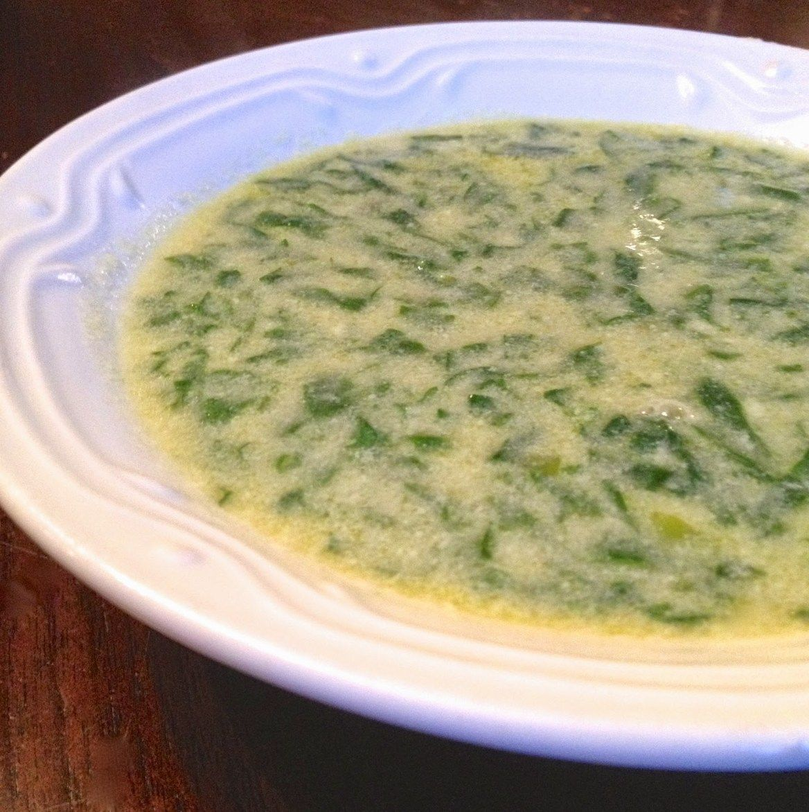 Julia Child's Cream of Spinach Soup #spinachsoup