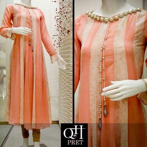beautiful neck design dress pinterest kurtis kurti