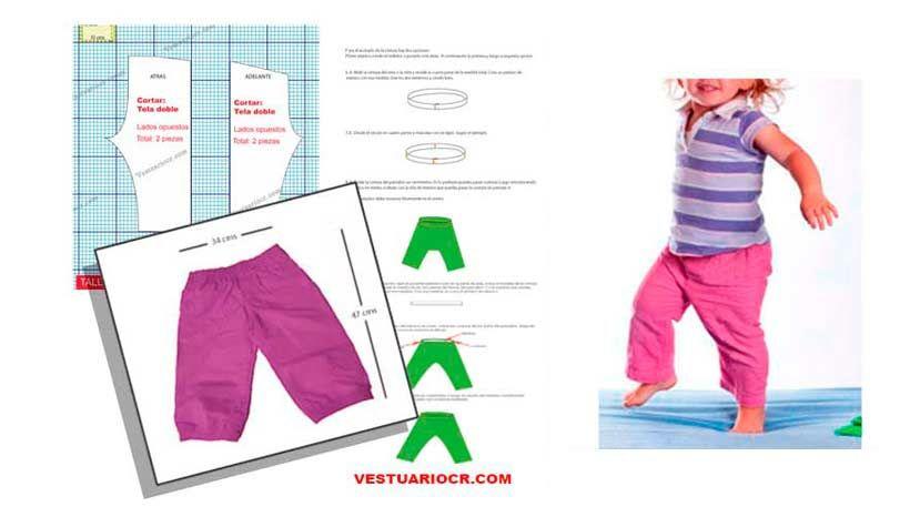 Moldes de costura para ropa de niña | Patrones ropa infantil ...