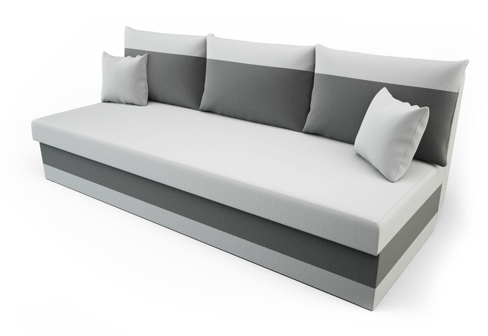 Sofa Couch Schlaffunktion Bettkasten Sofagarnitur Sofabett Schlafsofa Premium Modern House Facades Furniture Sofa