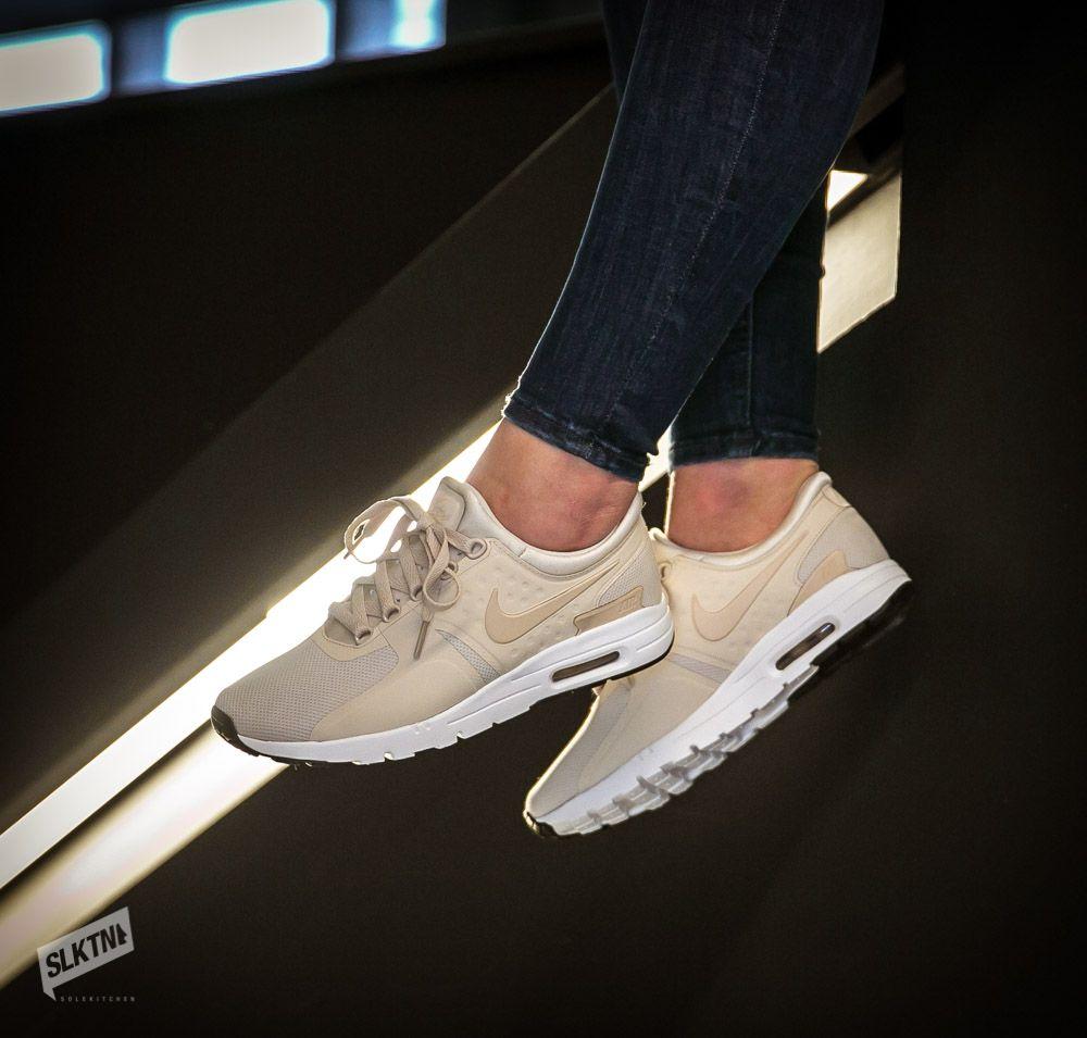 sports shoes 40b98 2d3db Beiger womens Nike Air Max Zero