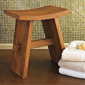 Bathroom Bench wood bath bench | bedroom and living room image collections