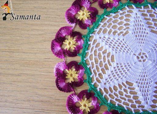 Carpetas y tapetitos crochet - Liru labores textiles - Album Web Picasa