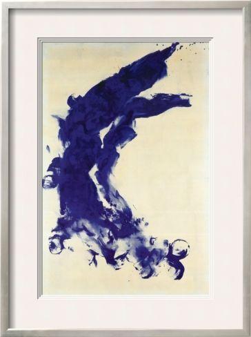 Anthropometrie (ANT 130), 1960 Pre-made Frame by Yves Klein at Art.com