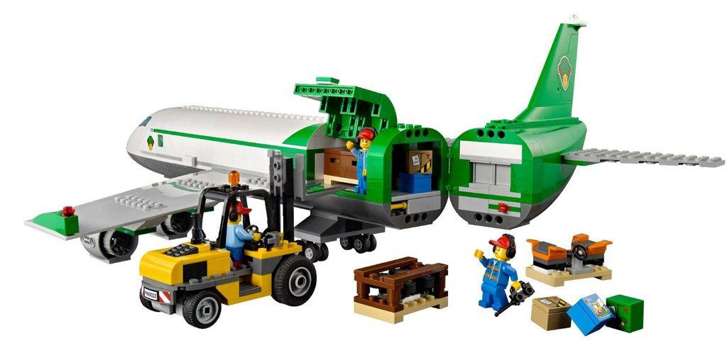 Lego City Airport 60022 Cargo Terminal Amazoncouk Toys Games