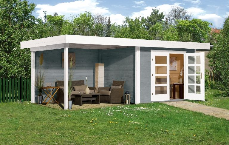 abri jardin en bois chill out house taille 2 vues 4 cabane jardin. Black Bedroom Furniture Sets. Home Design Ideas