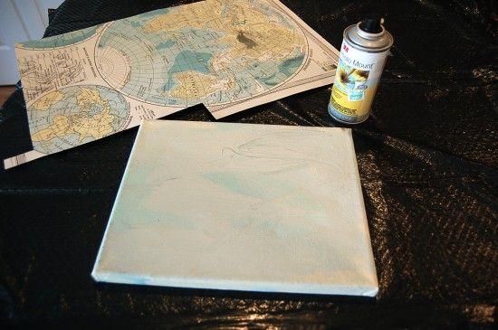 Map art tutorial
