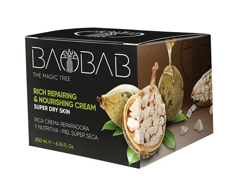 El poder de la cosmética Baobab