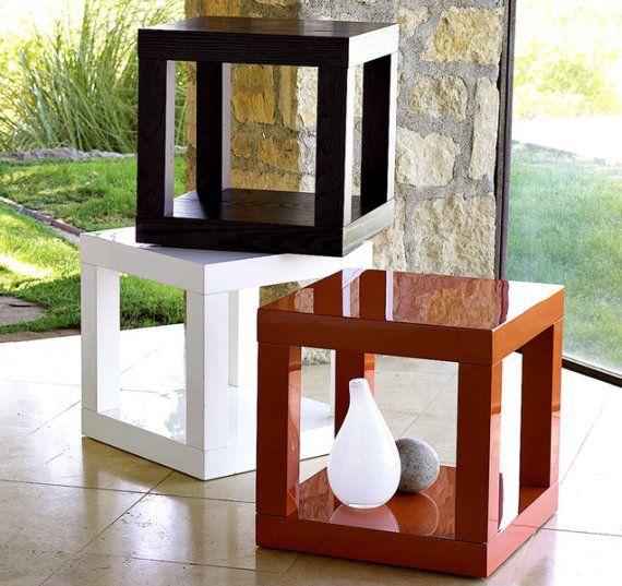 jolies petites tables kubiques kub kubs kubakub int rieurs kubiques pinterest diy m bel. Black Bedroom Furniture Sets. Home Design Ideas