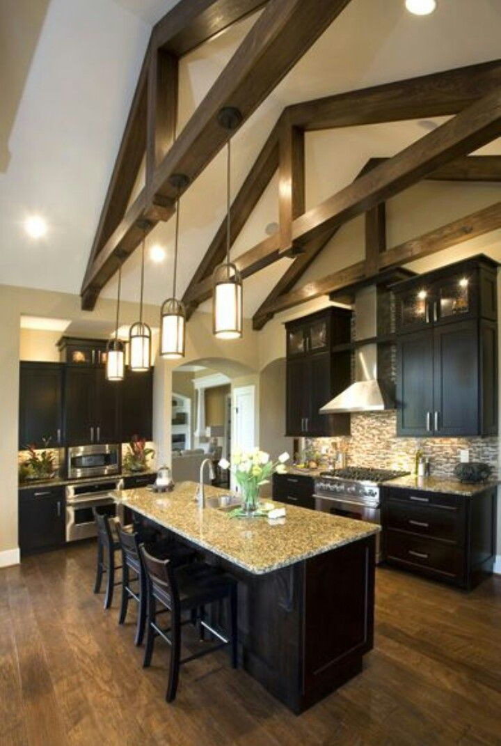 spacious kitchen idea vaulted ceiling lighting vaulted ceiling kitchen kitchen ceiling lights on kitchen cabinets vaulted ceiling id=63094