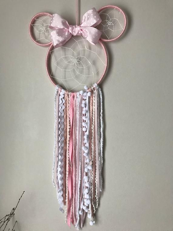Minnie Mouse dreamcatcher, Minnie Mouse, Minnie Mouse bow, Minnie Mouse ears, Mickey Mouse, dreamcatcher, Minnie Mouse birthday, Disney