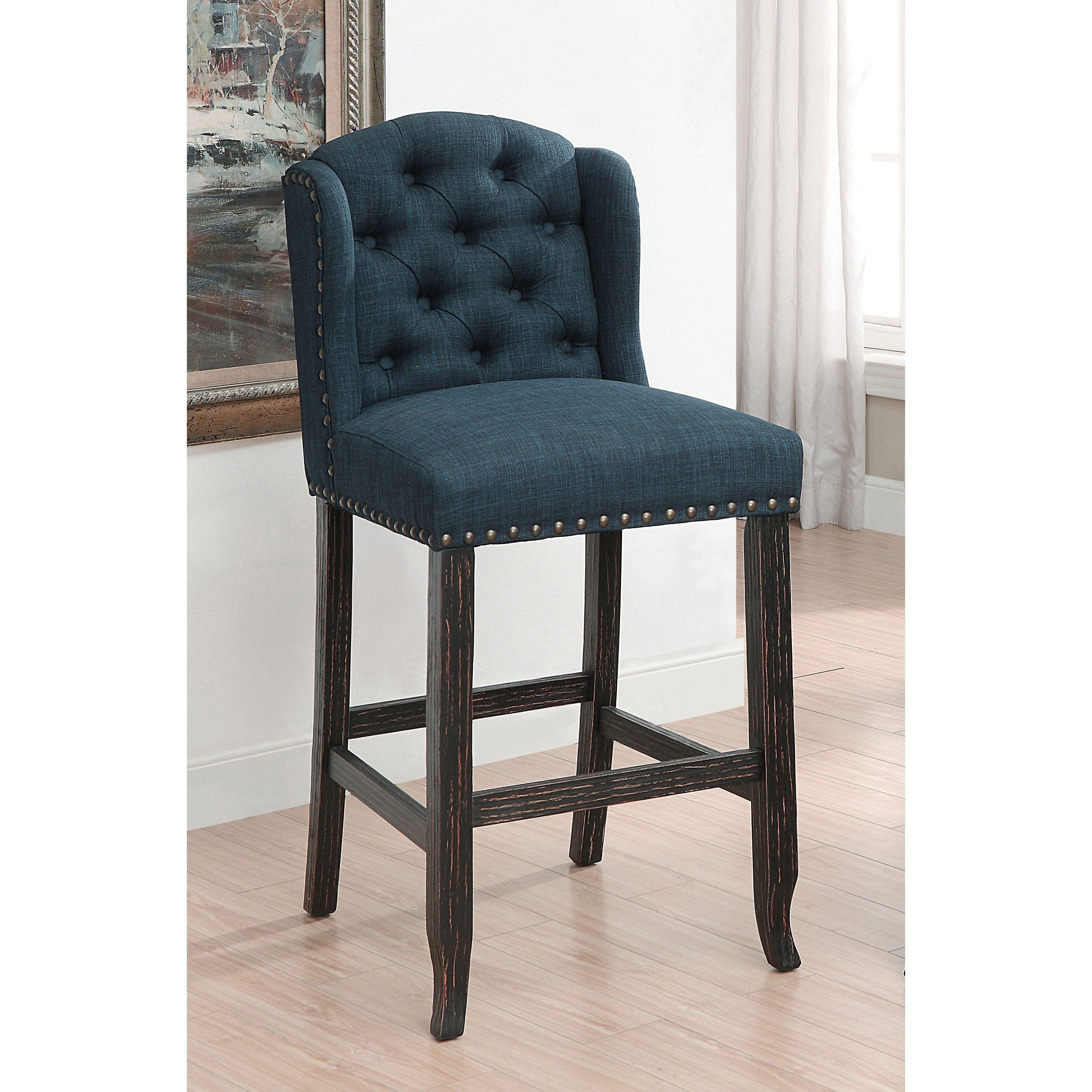 Super Furniture Of America Telara Contemporary Tufted Wingback 30 Cjindustries Chair Design For Home Cjindustriesco