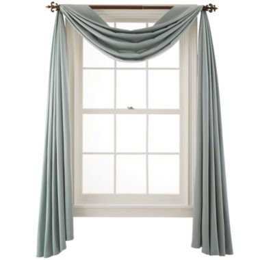 Easy To Drape Our Scarf Valance Envelops Your Window With