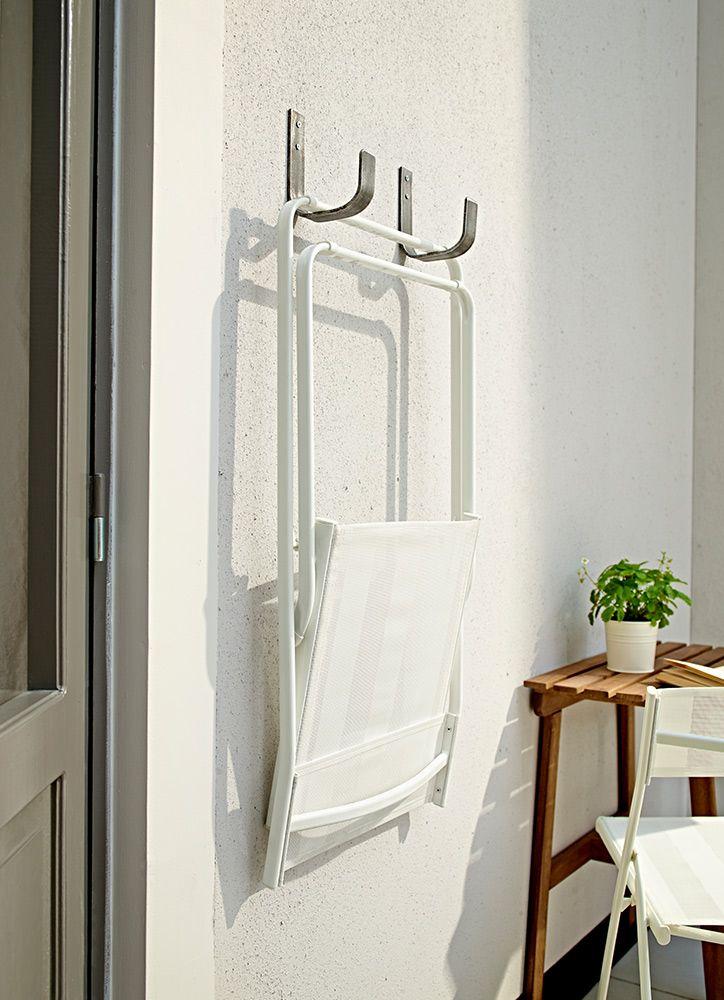 gancho pared para sillas plegable