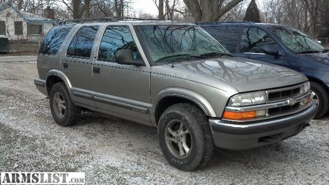 For Sale Trade 1998 Chevy Blazer 4d 4x4 Sunroof Tow Kit Custom Wheels A C And Heat Custom Wheels Chevy Blazer