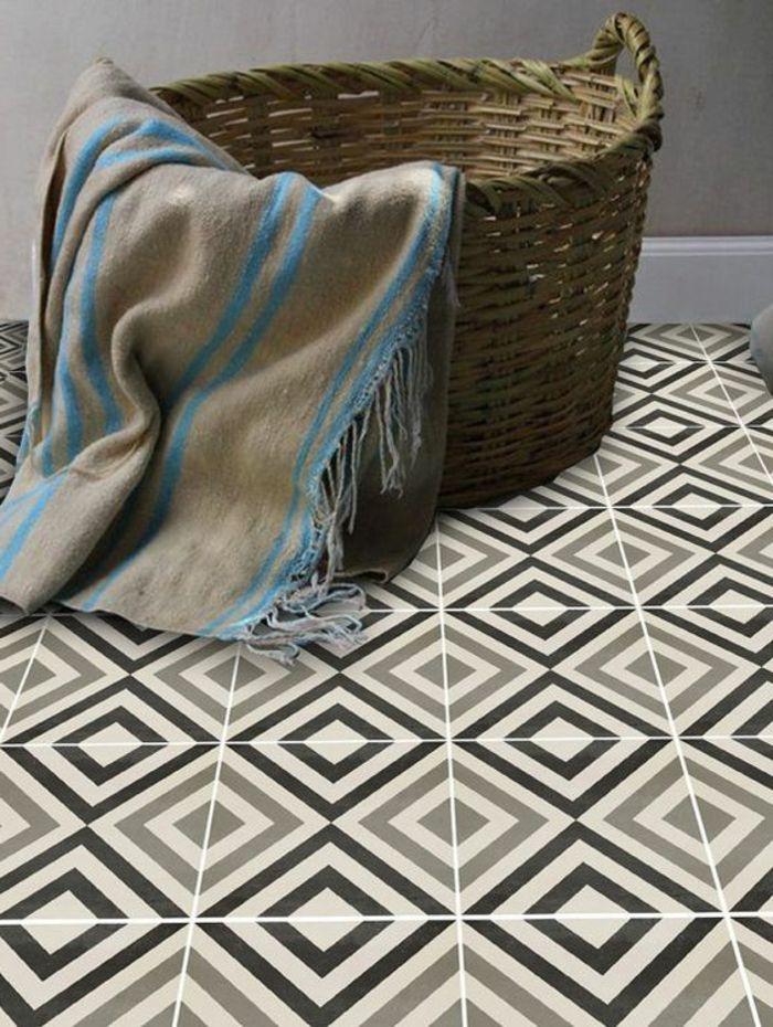 ▷ 1001 + idées pour décorer l\'espace avec le sol vinyle imitation ...