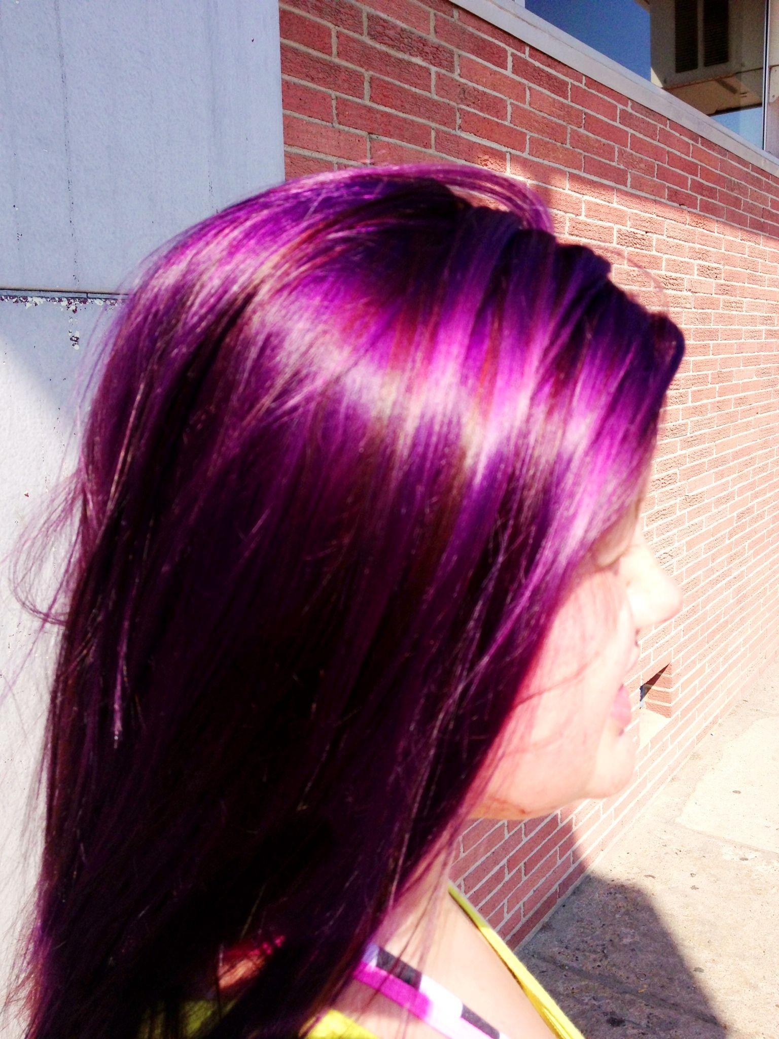 Dsk Steph Diy Hair Color Burgundy Plum Of Hair Color Plum