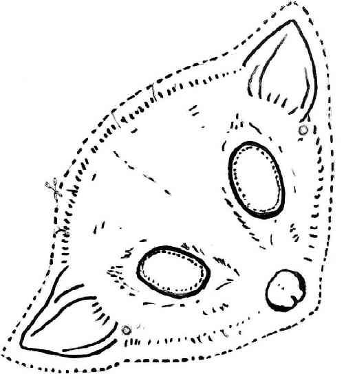 possum possums crafts coloring pages - photo#23