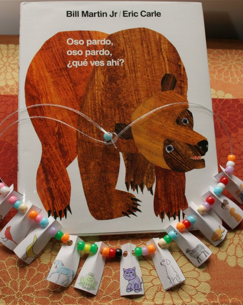 Make a storytelling necklace. (Links provided for images for two ...