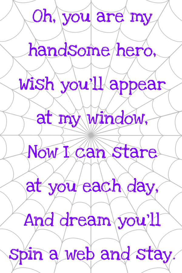 Spider Man Poem : spider, Superhero, ______., Spiderman, Decals,, Funny, Poems