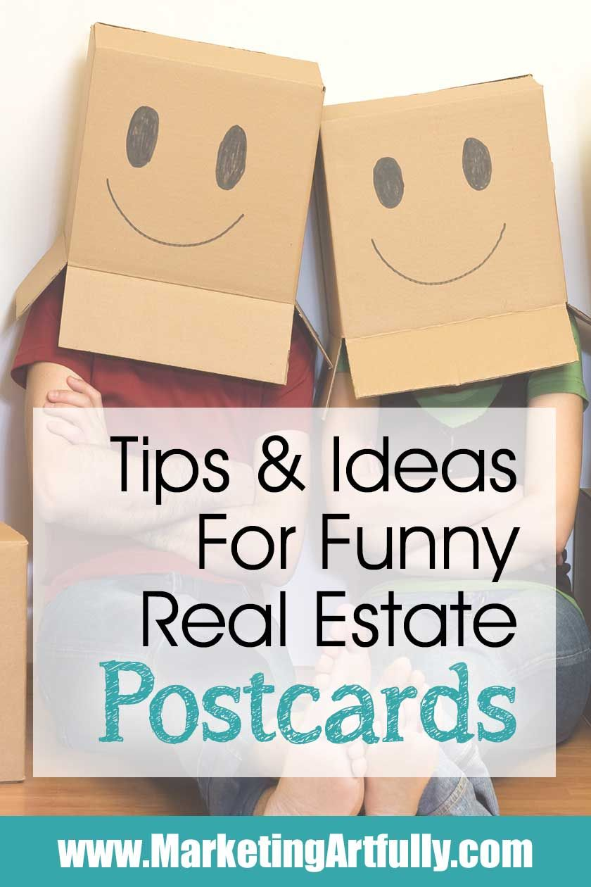 Funny Real Estate Postcards is part of Real estate postcards, Real estate marketing postcards, Real estate humor, Realtor postcards, Real estate advertising, Realtor marketing - Real estate marketing is generally a serious thing  That having been said, if you have the right personality, funny real estate postcards can be a great advertising tool!
