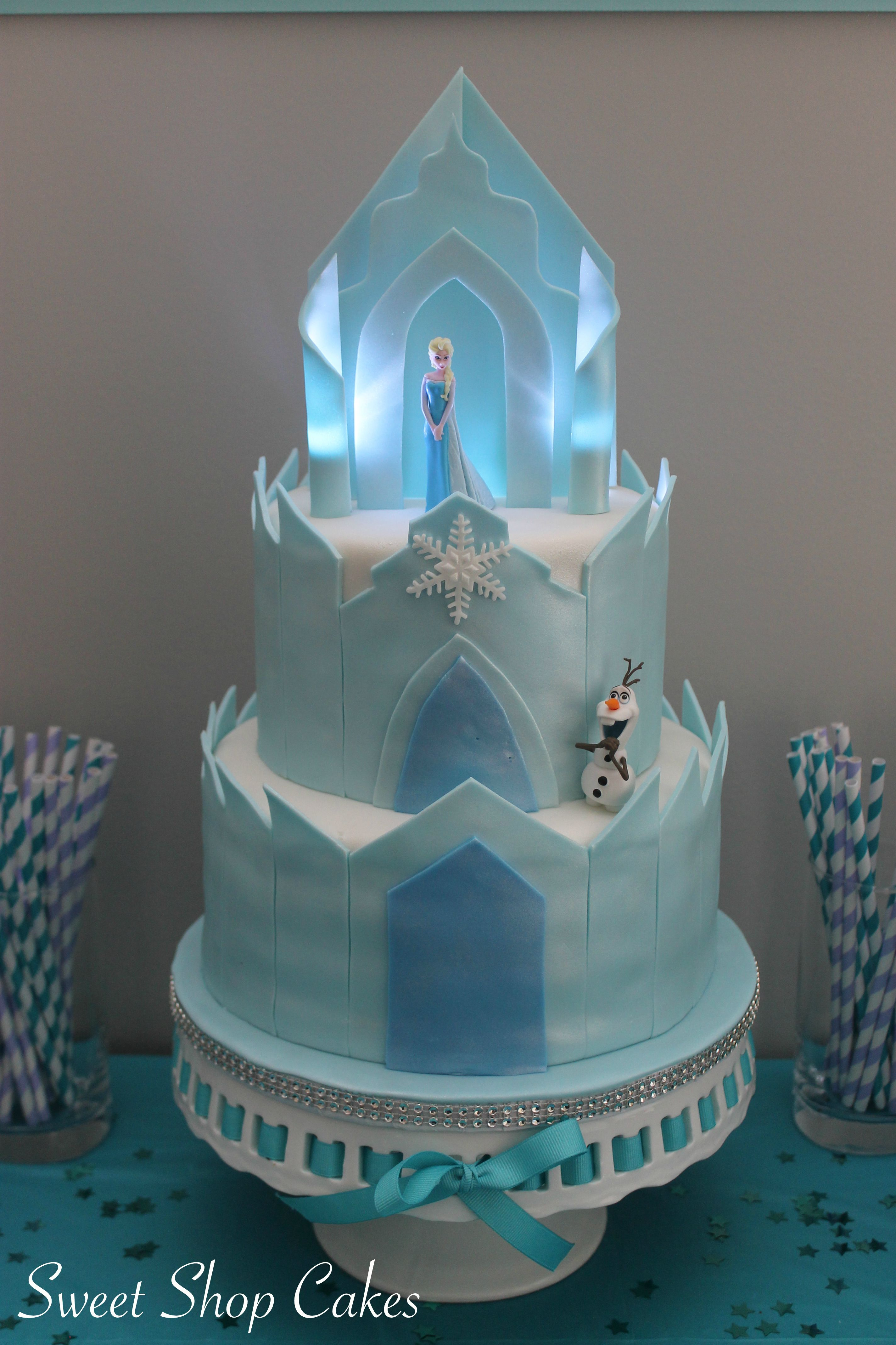 Enjoyable Frozen Castle Cake With Images Castle Birthday Cakes Frozen Funny Birthday Cards Online Overcheapnameinfo