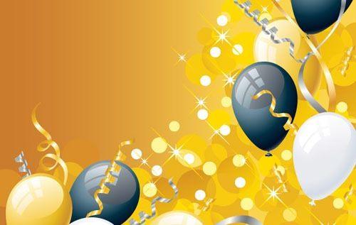Fondo para cartel o invitación de fiesta, celebración o cumpleaños PLANITLLAS Y FONDOS