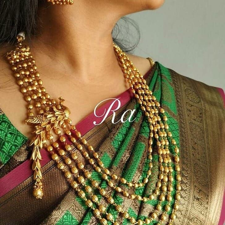 Pin by Ifiza on jewels Thread jewellery, Indian jewelry