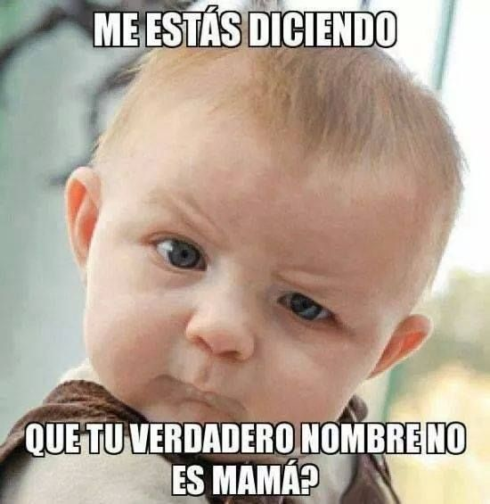 Nino Quejas A Mama Mami Madre Funny Babies Funny Kids Baby Memes