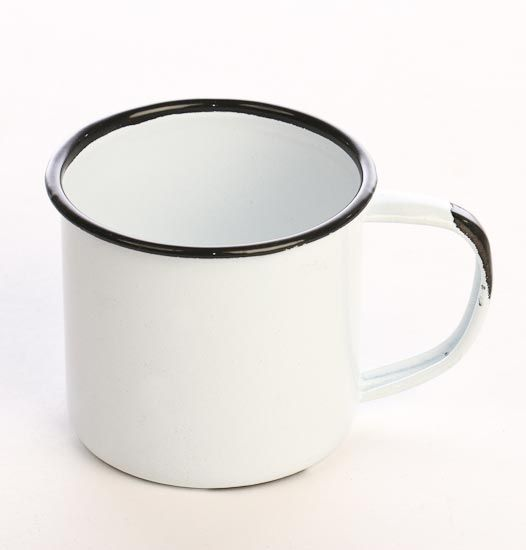 old primitive white decor | ... Mug - Pails, Tubs and Buckets - Rusty Tin Primitives - Primitive Decor