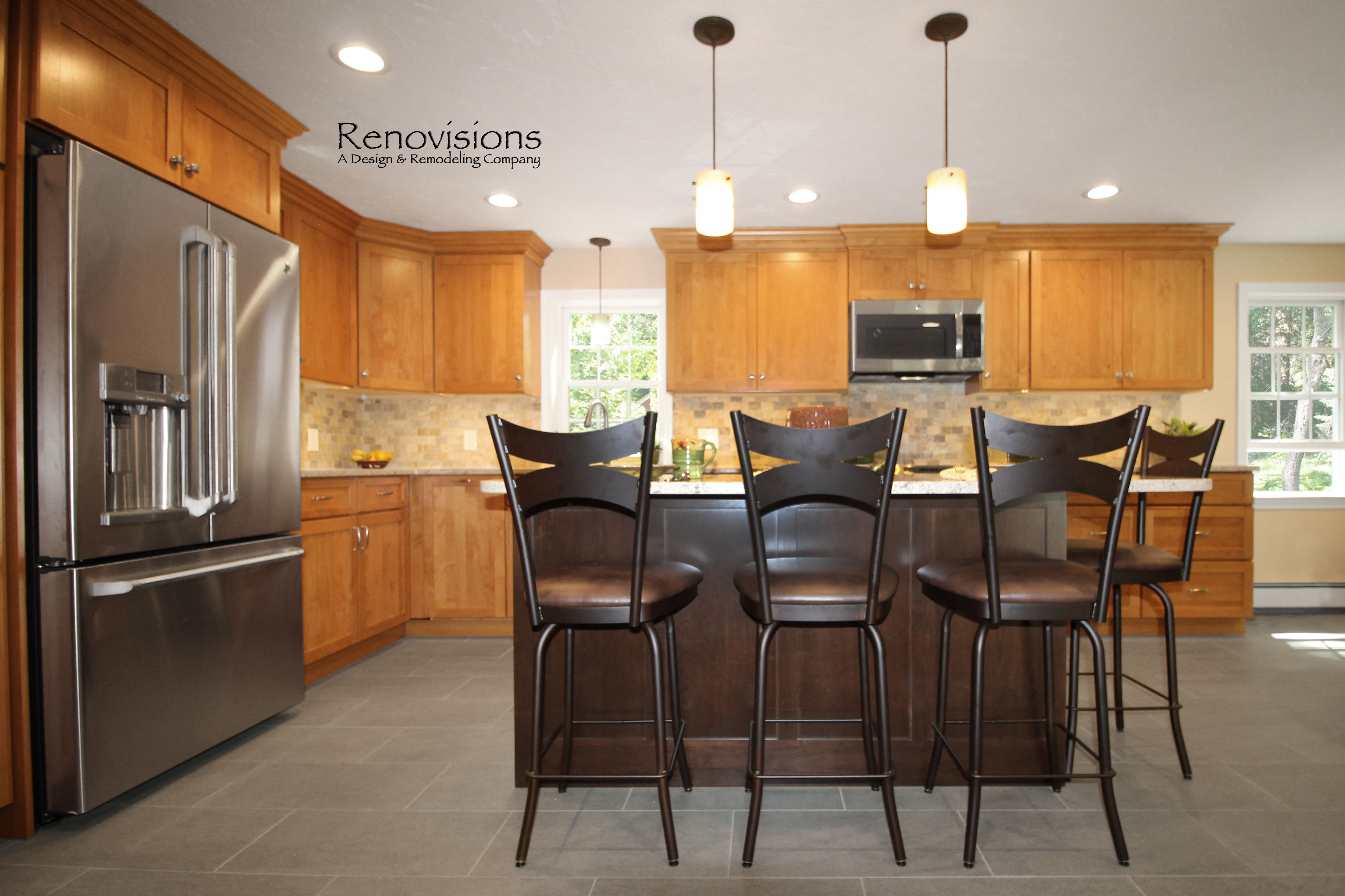 a completed kitchen addition remodel by renovisions kitchen remodel rh pinterest co uk