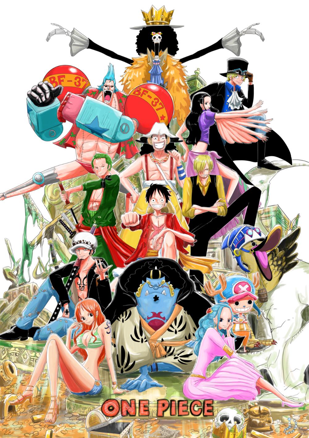 Onepiece 扉絵オマージュ まーがれっとのイラスト Em 2020 Anime