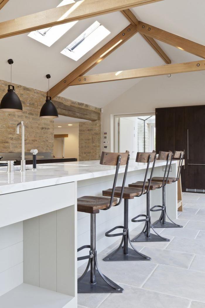 Les Vieilles Granges Transformées En Maisons Lofts. Barn Conversion  KitchenBarn ...