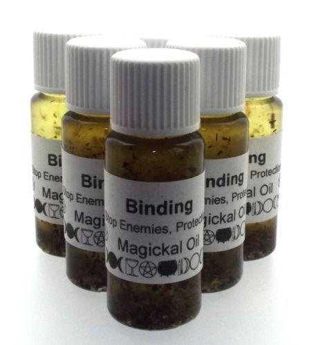 Details About Binding Herbal Infused Oil Stop Enemies