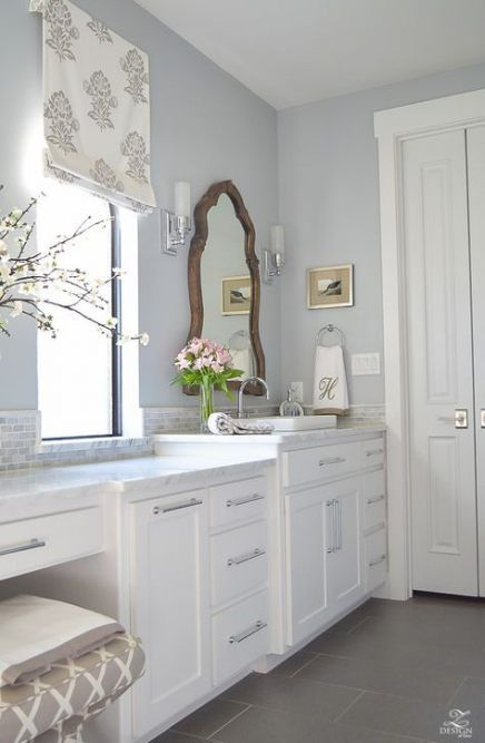 best bathroom vanity double sink white paint colors ideas
