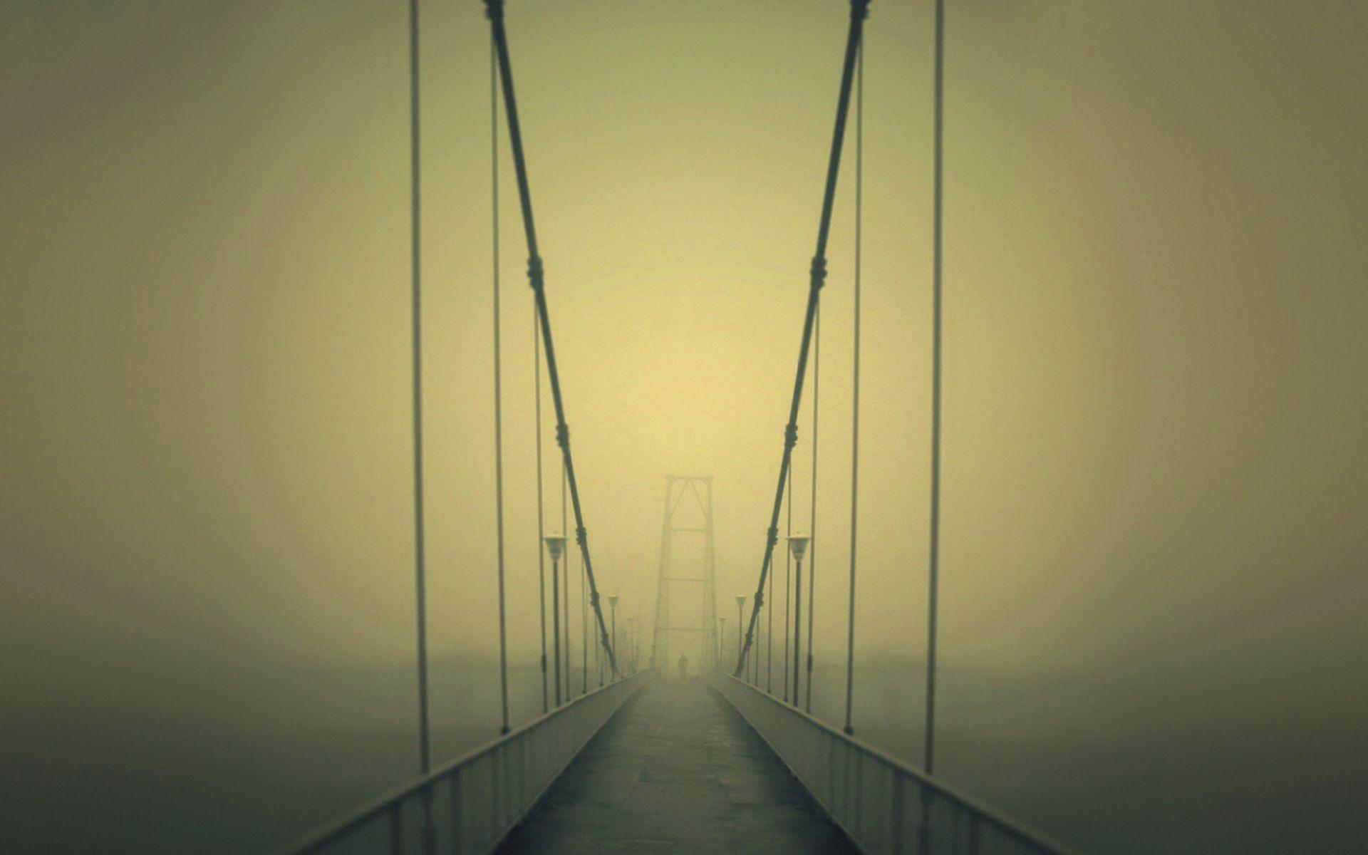 Slender Man Wallpaper Bridge Wallpaper Creepy Wallpapers Scary Bridges