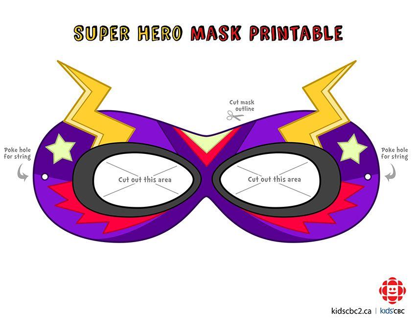 make your own super awesome superhero mask assistant principal rh pinterest com