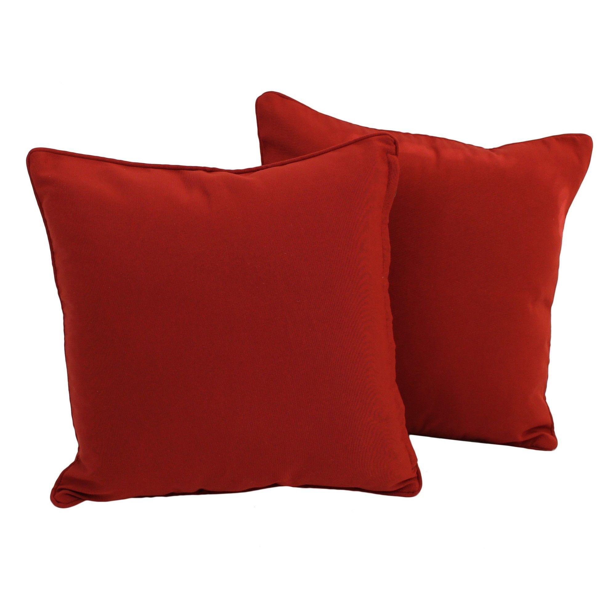 Weymouth indooroutdoor throw pillow weymouth fc indoor outdoor