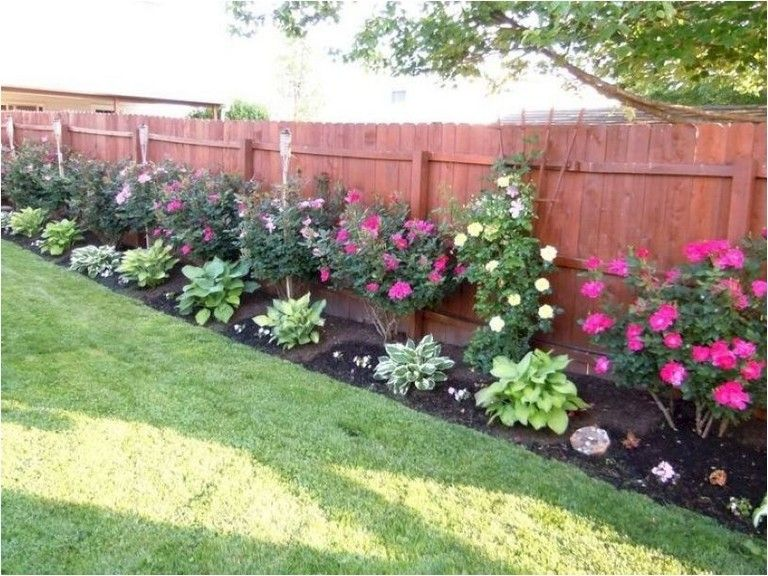 70 Backyard Landscape Architecture Inspirations Privacy Fence Landscaping Large Backyard Landscaping Fence Landscaping