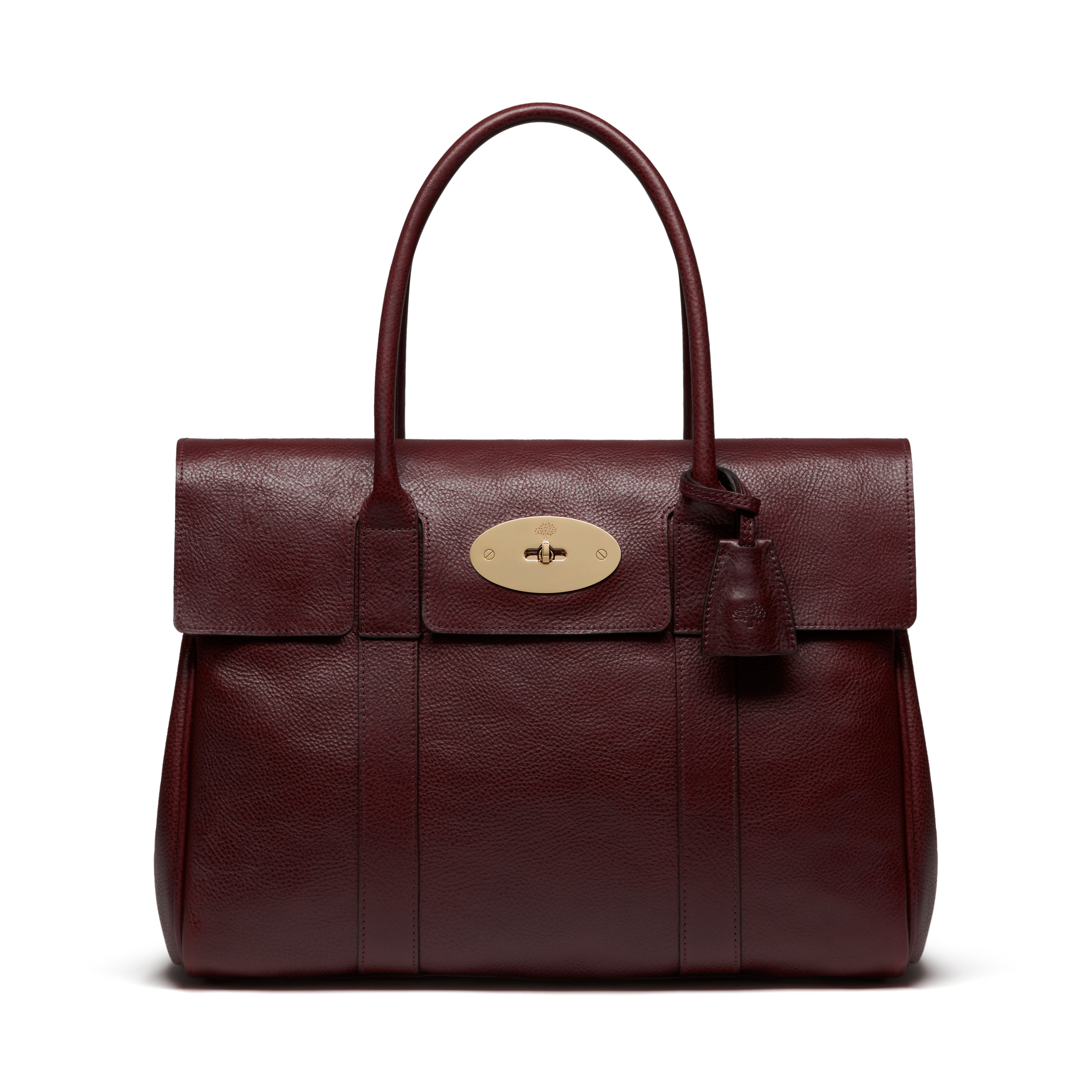 52618db997 Classic   timeless Mulberry - Bayswater in Oxblood Natural Leather ...