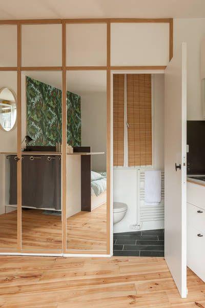 Miniature un studio parisien sobre et l gant paris - Architecte interieur paris petite surface ...