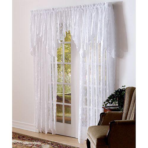Allison Jacquard Lace Panel Boscov S Lace Curtains Lace Panelled Panel Curtains