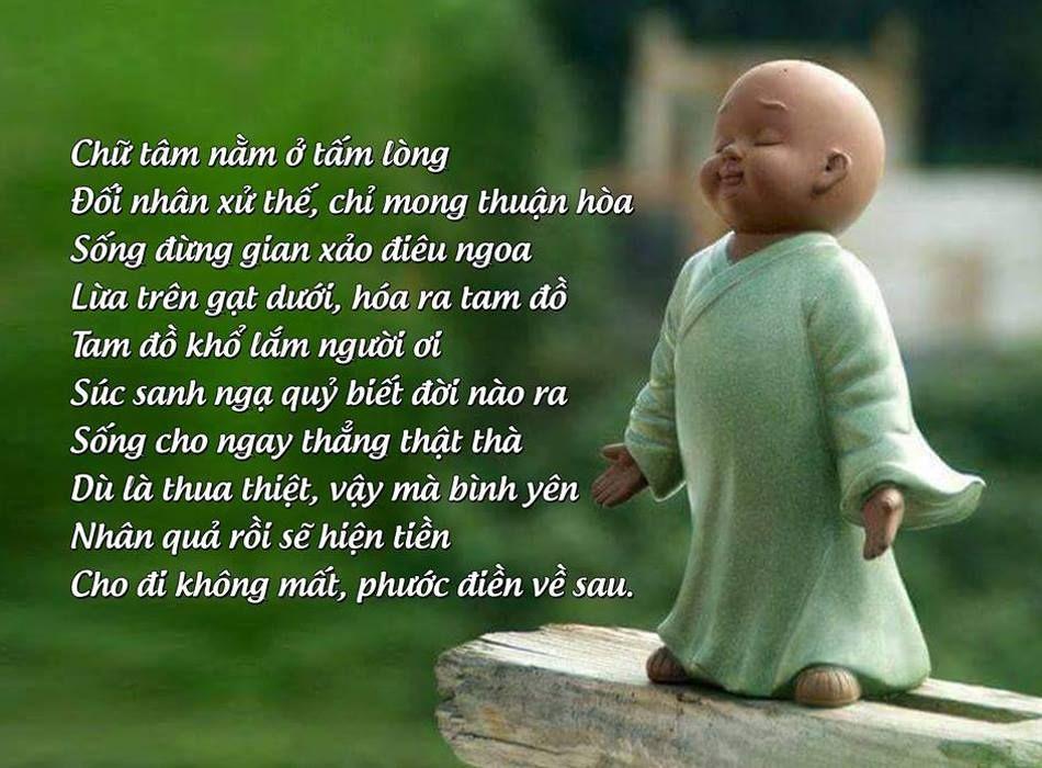 HẠNH BỐ THÍ Chắp tay con hỏi Phật ơi Người ta giàu thế là do nhân gì? Phật  cười khuôn mặt từ bi Bố thí, làm phước nhân này giàu sang. Như… |