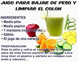 Como preparar jugo de pina pepino y limon para adelgazar