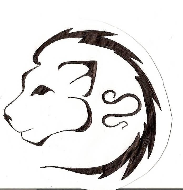 Simple Leo Tattoo Designs Tattooshunter With Images Leo