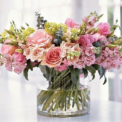 bouquet de fleurs printanier