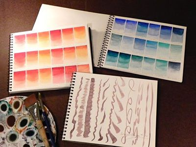 17C207 - Color Theory Through Watercolor