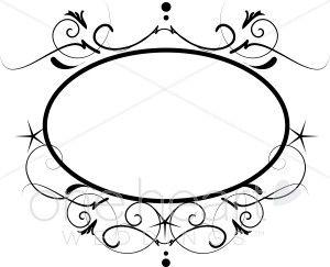 Star Monogram Clipart Wedding Borders Wedding Borders Clip Art Borders Monogram